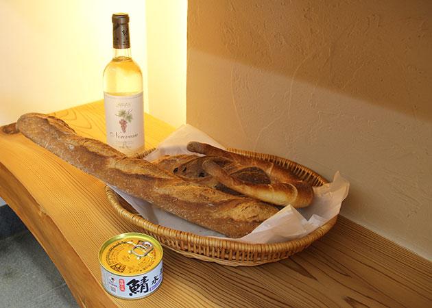 ワインとパンのススメ。写真
