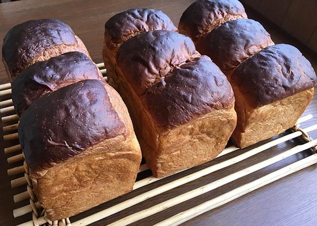 国産小麦のミニ食パン