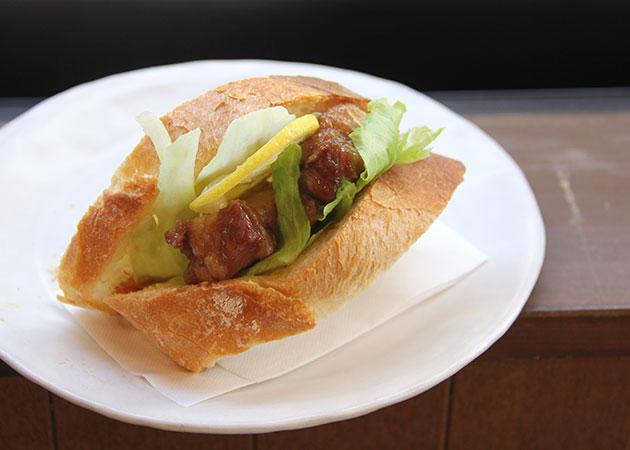 新商品「煮豚のサンドイッチ」!